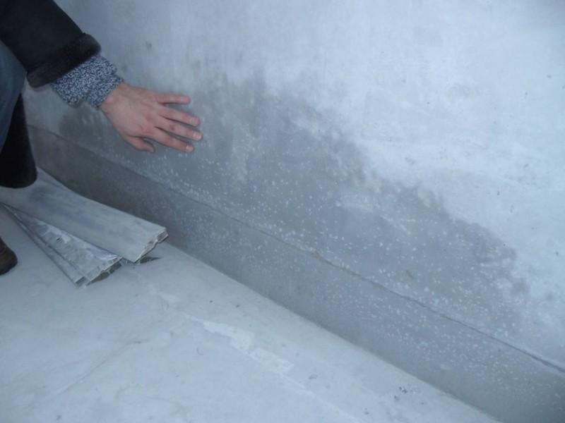 Подготовка поверхности перед нанесением гидроизоляции