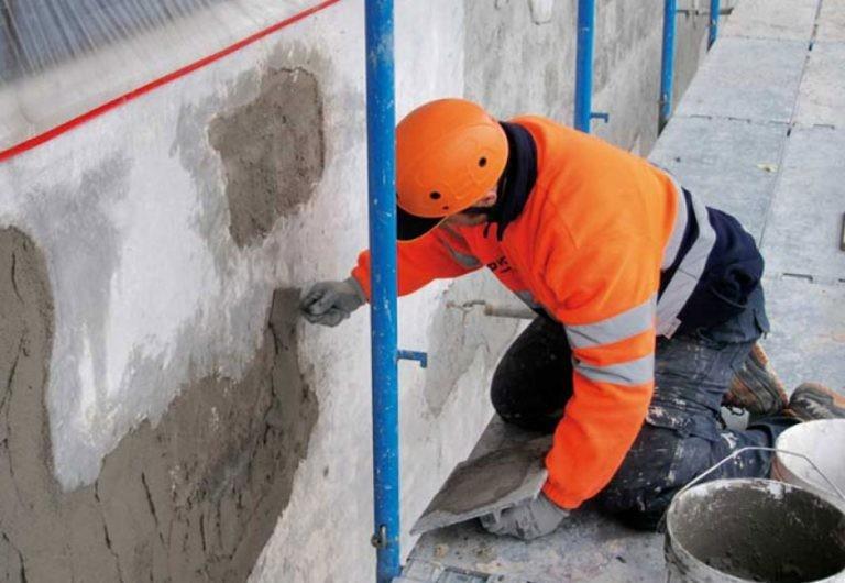 Ремонт бетонных поверхностей смесями эмако самовыравнивающаяся смесь для бетонных полов