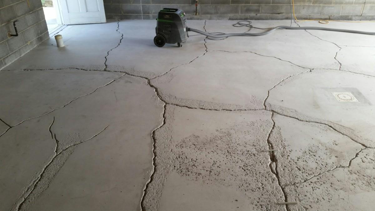 ремонт бетонных трещин