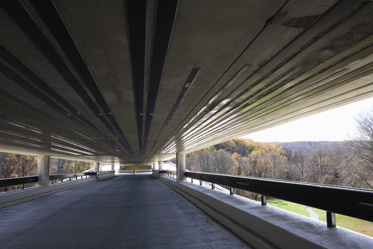 Усиление моста углеродными ламелями