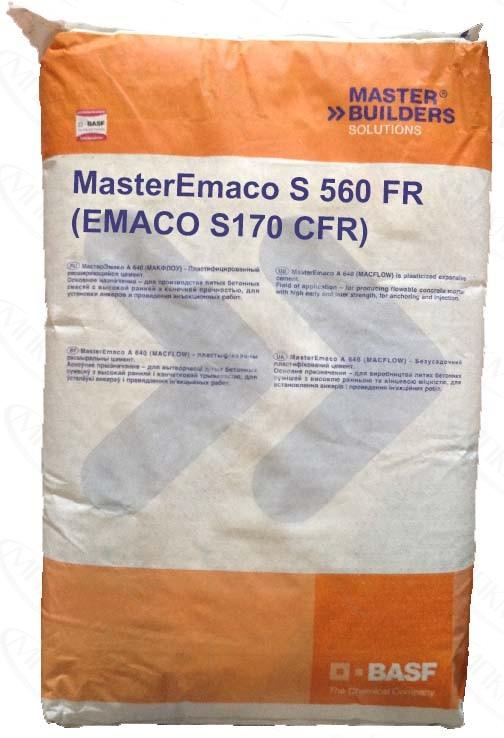 Смесь бетонная emaco s170 стоимость работ керамзитобетон