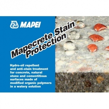 Mapecrete Stain Protection